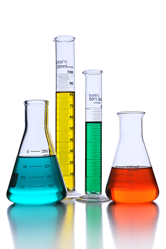 Vidros de laboratório