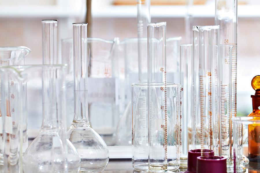 vidrarias de laboratório