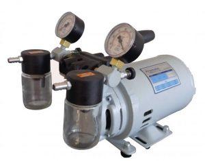 Bomba a Vácuo e Compressor – Isenta de Óleo – Vácuo Final 620 mmhg