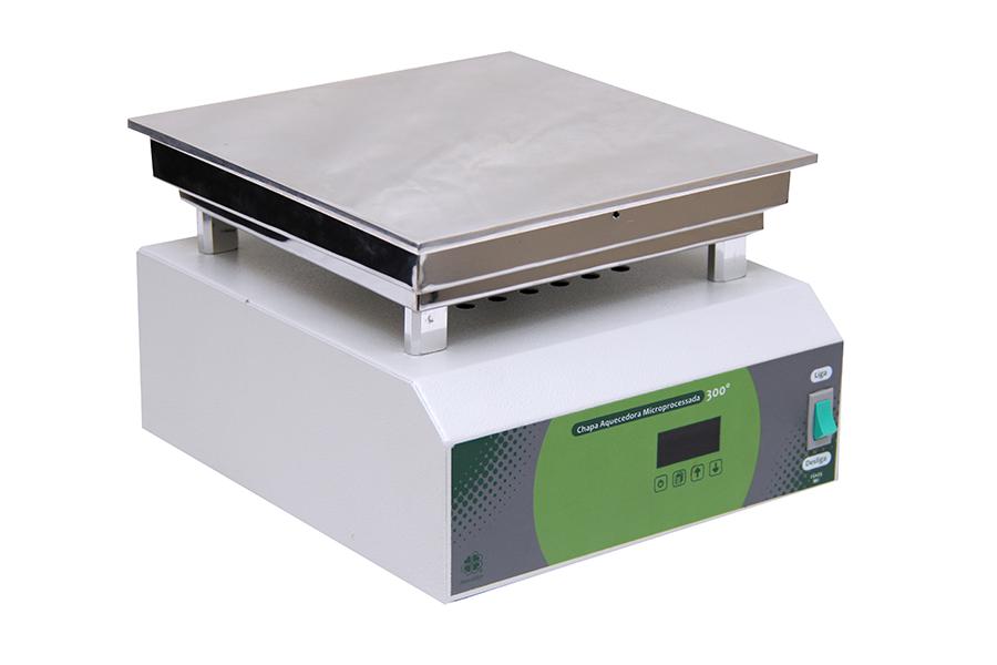 Chapa Aquecedora Micro Processada 25 x 25 cm