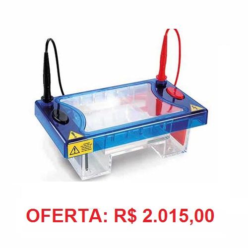 Cuba para Eletroforese Horizontal 10x10cm