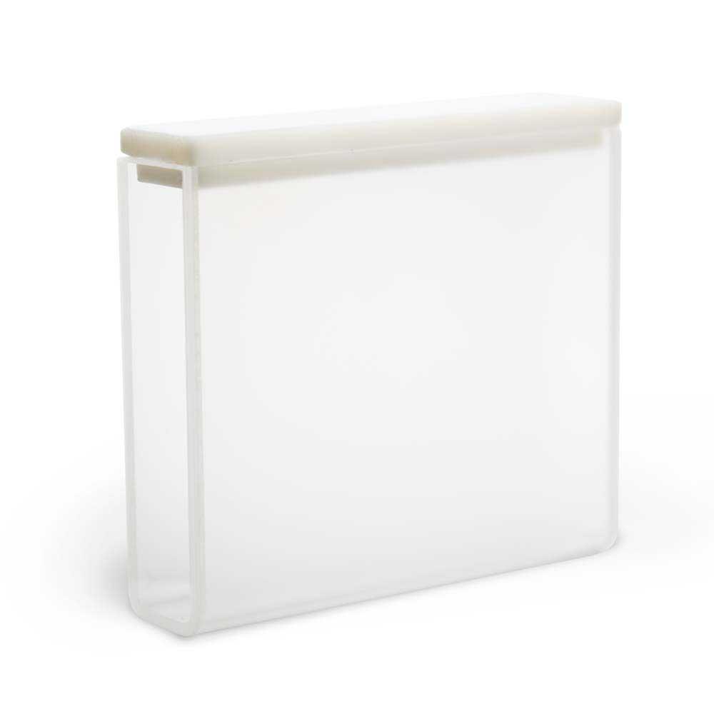 Cubeta de Quartzo Retangular, 40 mm, Volume de 14 mL