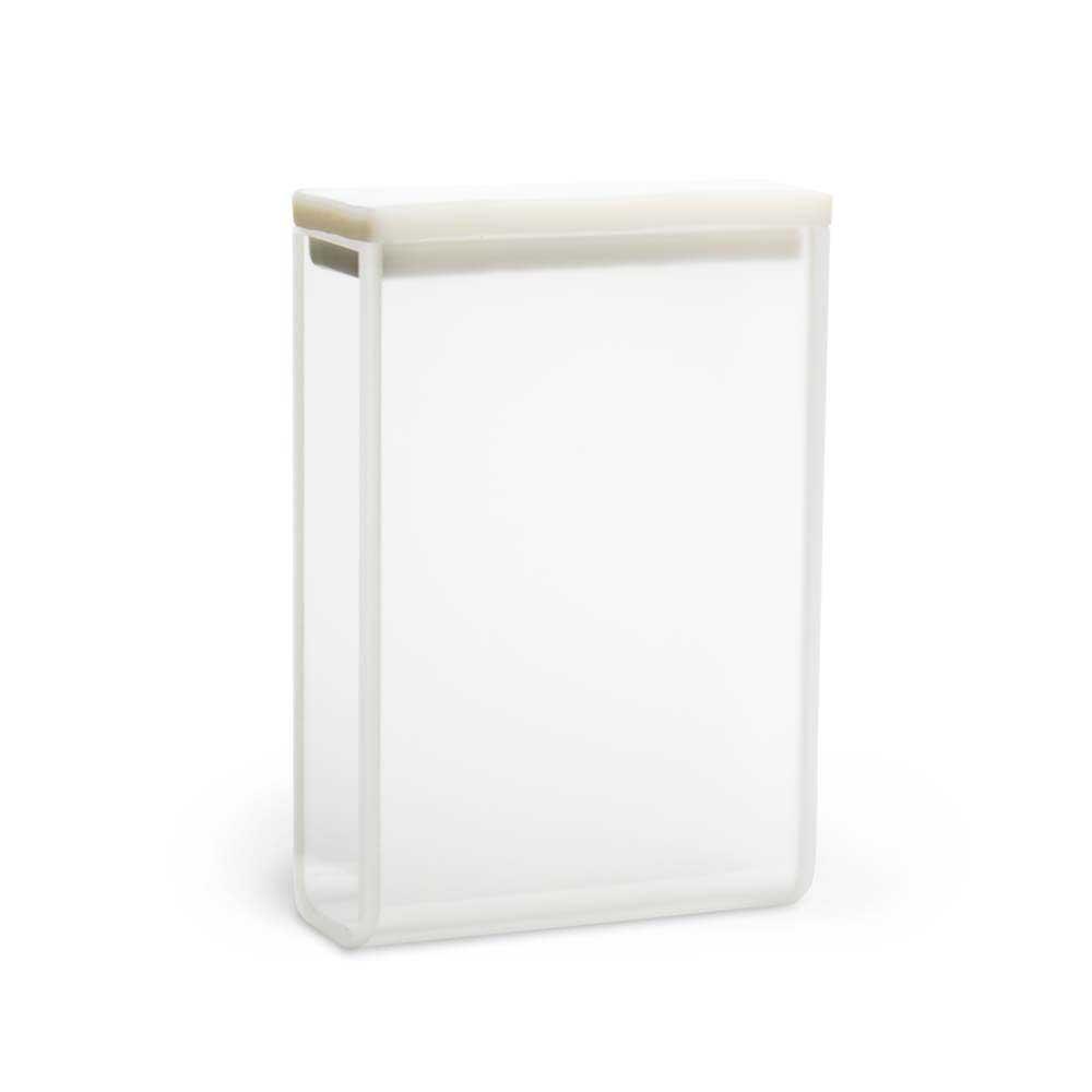Cubeta de Vidro Ótico Retangular, 30 mm, Volume 10,5 mL