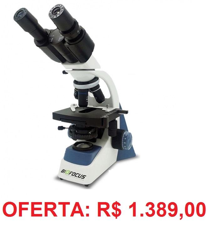 Microscópio Biológico Binocular 1600X