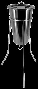 Percolador em Aço inox