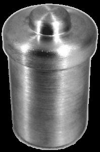 Pesa Filtro de Alumínio Com Tampa Forma Alta