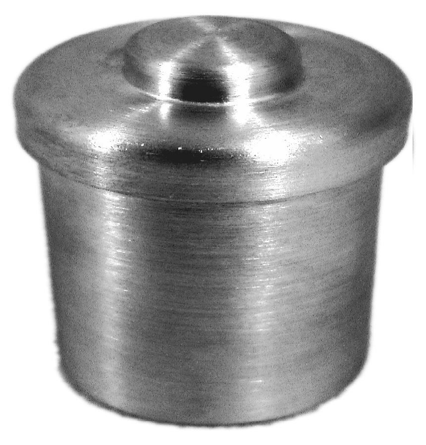 Pesa Filtro de Alumínio Com Tampa Forma Baixa