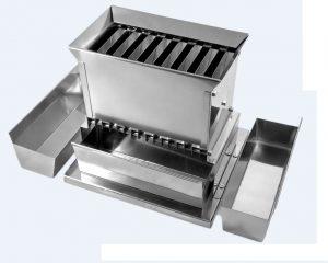 Quarteador de Amostras em Aço Inox