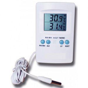 Termômetro Digital Máxima e Mínima Com Sensor