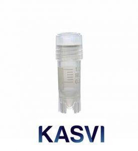 Tubo Criogênico 1,2 ml Rosca Externa Kasvi