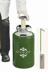Botijão Criogênico 3 Litros YDS-3 Cryofarm