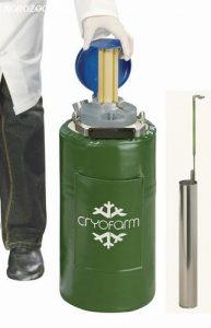 Botijão Criogênico 8 Litros YDH-8 (Dry Shipper) Cryofarm