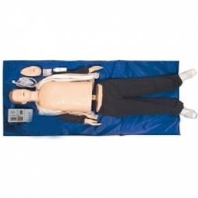 Manequim Adulto Sem órgãos Para Treino RCP Com Luzes De Controle