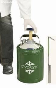 Botijão Criogênico 2 Litros YDS-2-30 Cryofarm