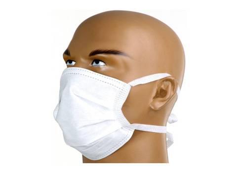 Máscara Cirúrgica Com Tiras