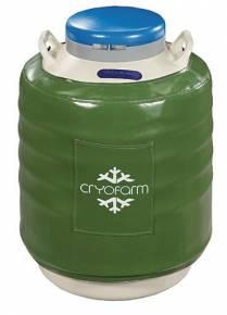 Botijão Criogênico 35,5 Litros YDS-35-125 Cryofarm