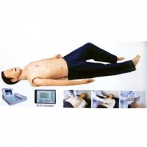 Simulador de Treinamento ACLS (RCP e ECG)