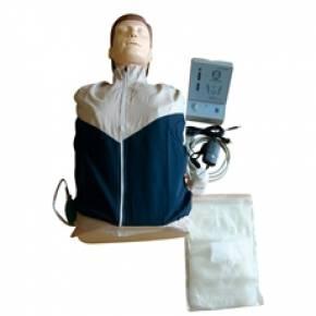 Manequim Torso Sem Órgãos Para Treino RCP Com Luzes De Controle