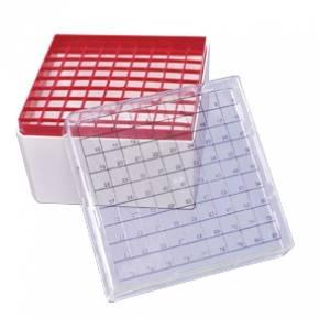 Rack (Caixa) Para 81 Tubos Criogênicos