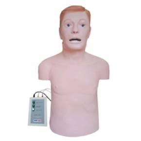 Simulador Torso Adulto Para RCP e Intubação