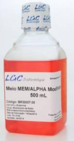 MEM Alpha, Com L-Glutamina, Ribo e Desoxiribonucleosideos