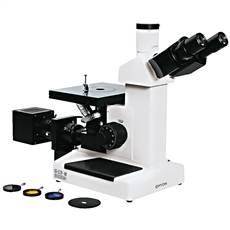 Microscópio Metalográfico Invertido Trinocular
