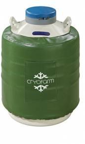 Botijão Criogênico 35,5 Litros YDS-35-90 Cryofarm