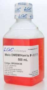 Meio DMEM/HAMS F12 Com L-Glutamina E HEPES (3,5g/L)
