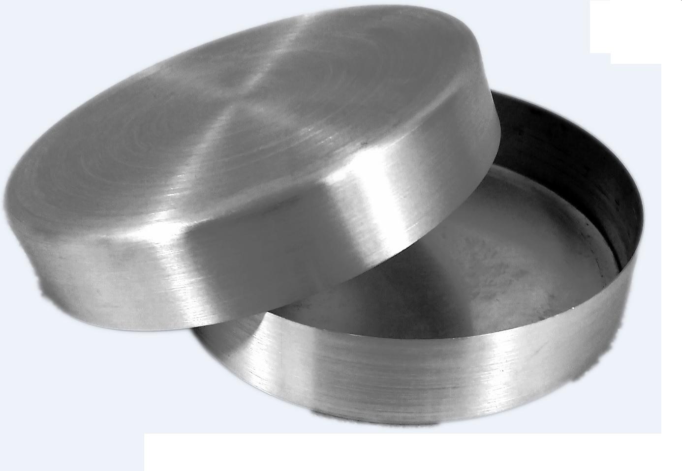 Placa de Petri em Alumínio