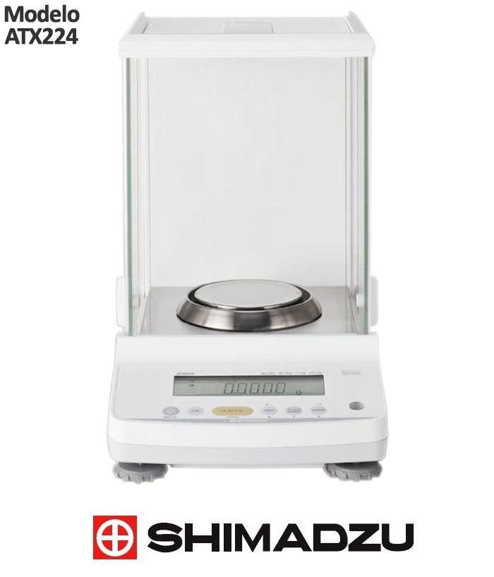 Balança Analitica 220gr – 0,1mg (0,0001g) Unibloc – Com Calibração Interna Automática PSC – ATX224