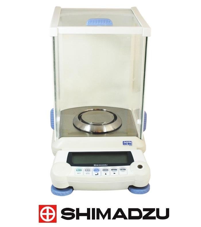 Balança Semi-Micro 220/82g – 0,1/0,01mg (0,0001g) Unibloc – Com Calibração Interna – AUW 220D
