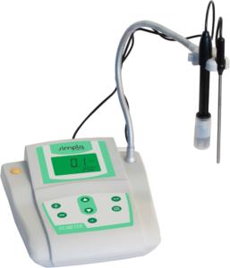 Condutivímetro de Bancada Faixa de Medição de 0.0 a 199.9 µS/cm – Medição em 4 faixas