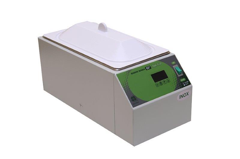 Banho Maria Digital 5 litros Microprocessado Temperatura até 60ºC
