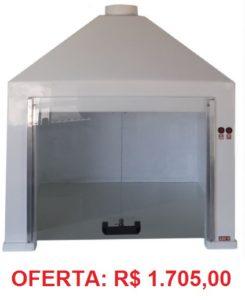 Capela de Exaustão de Gases – 60x60x52cm