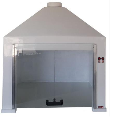 Capela de Exaustão de Gases – 80x84x62cm