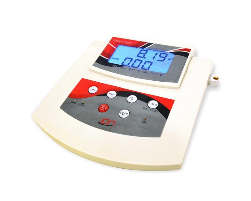 Medidor Multiparâmetros de Bancada pH, Condutividade, ORP, Temperatura, CF e TDS